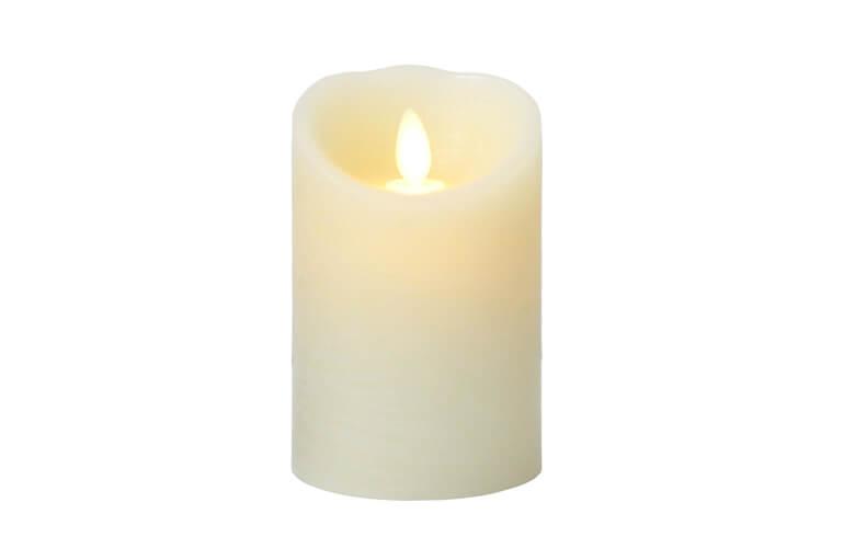 炎がゆれる火を使わないキャンドルに癒やされるルミナラの灯火!キャンプでも使える!