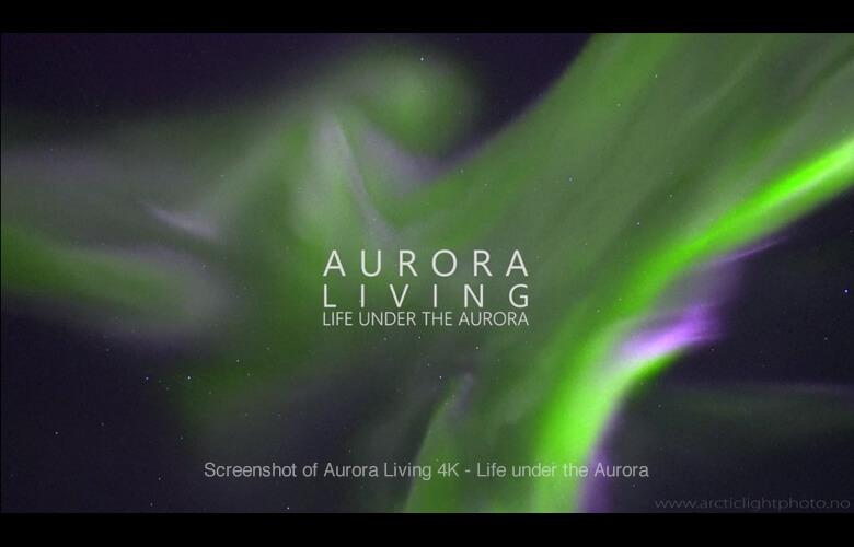 美しいオーロラの映像で癒される!街の上空に出現する自然美!圧巻のオーロラ映像